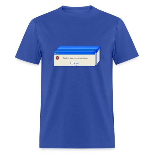 Windows Error T-Shirt - Men's T-Shirt