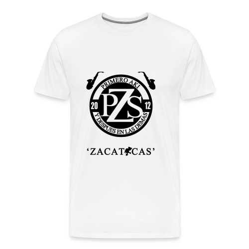 PZS 'Zacatecas' | Caballero - Men's Premium T-Shirt