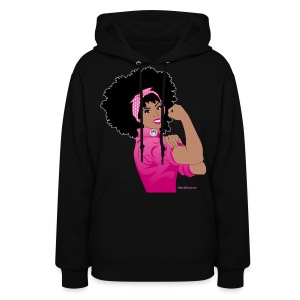 Breast Cancer Awareness: Naturally Revolutionary  - Women's Hoodie