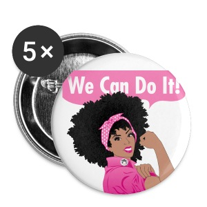 Breast Cancer Awareness: Naturally Revolutionary  - Small Buttons
