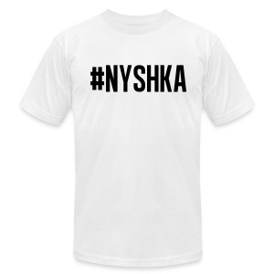 #NYSHKA black - Men's T-Shirt by American Apparel
