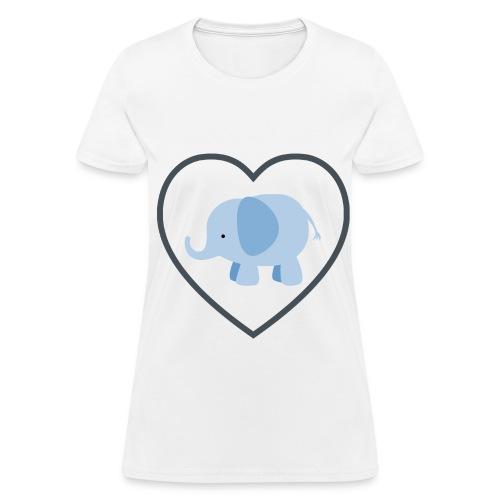 Elephant Love Shirt Women's - Women's T-Shirt