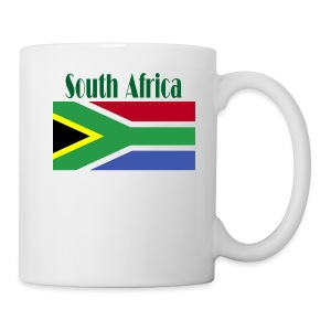 South African Flag Tea Mug - Coffee/Tea Mug