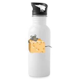 Cheese and Mouse Bottles & Mugs - Water Bottle