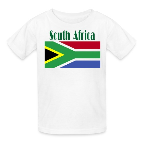 South African Flag T-Shirt For Kids - Kids' T-Shirt
