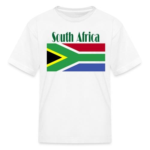 South African Flag T-Shirt For Kids - Kids' T-Shirt
