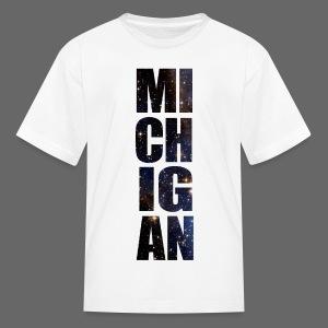 Michigan Star Sky - Kids' T-Shirt