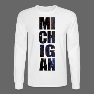 Michigan Star Sky - Men's Long Sleeve T-Shirt