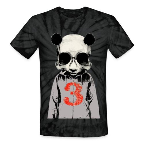 3Panda - Unisex Tie Dye T-Shirt