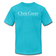 T-Shirts ~ Men's T-Shirt by American Apparel ~ Teal Logo Tee