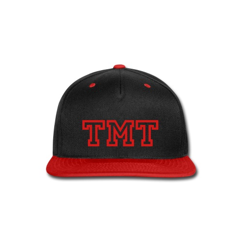 tmt red - Snap-back Baseball Cap
