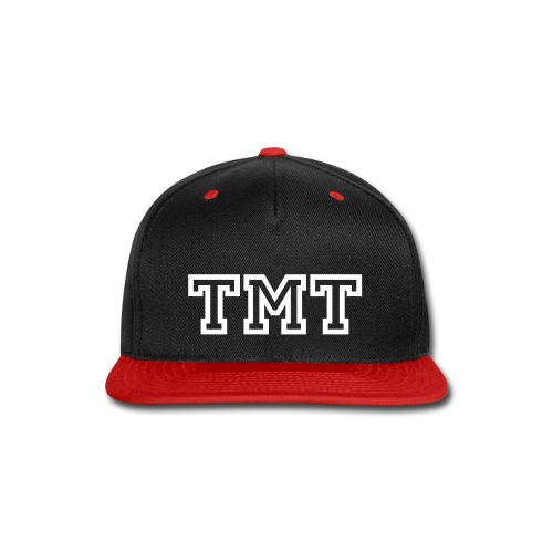 tmt white - Snap-back Baseball Cap