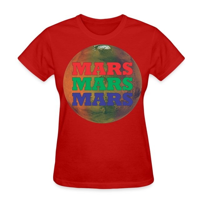 RGB Mars Women's T-Shirts