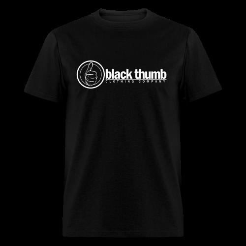 Black Thumb Logotype - Men's T-Shirt