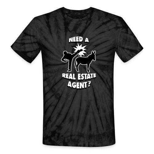Kick Ass Agent Tie-Dye - Unisex Tie Dye T-Shirt