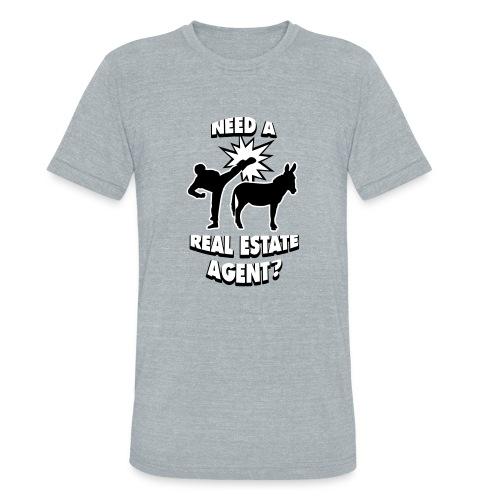 Kick Ass Agent Unisex - Unisex Tri-Blend T-Shirt