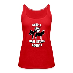 Kick Ass Agent Premium - Women's Premium Tank Top