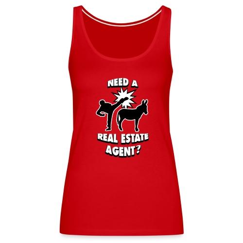 Kick Ass Agent Premium - Women's Premium Tank Top