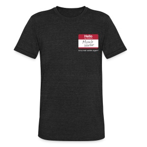 Miracle Worker Unisex - Unisex Tri-Blend T-Shirt by American Apparel