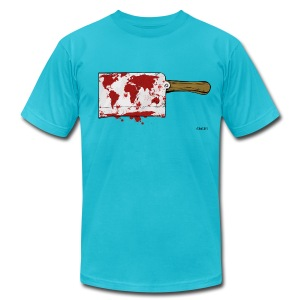 Violent World - Men's T-Shirt by American Apparel