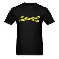 T-Shirts ~ Men's T-Shirt ~ Crime Scene Tape