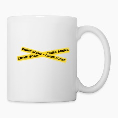 Crime Scene Tape Bottles & Mugs