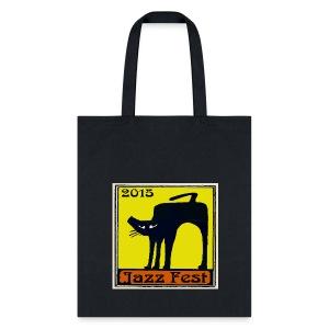 Jazz Fest 2015 Black Cat Bags & backpacks - Tote Bag
