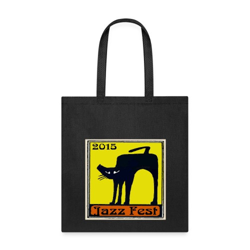Jazz Fest 2015 Black Cat Bags & backpacks - Tote Bag