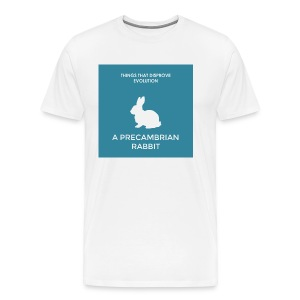 A precambrian rabbit - Men's Premium T-Shirt