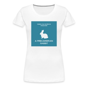 A precambrian rabbit - Women's Premium T-Shirt
