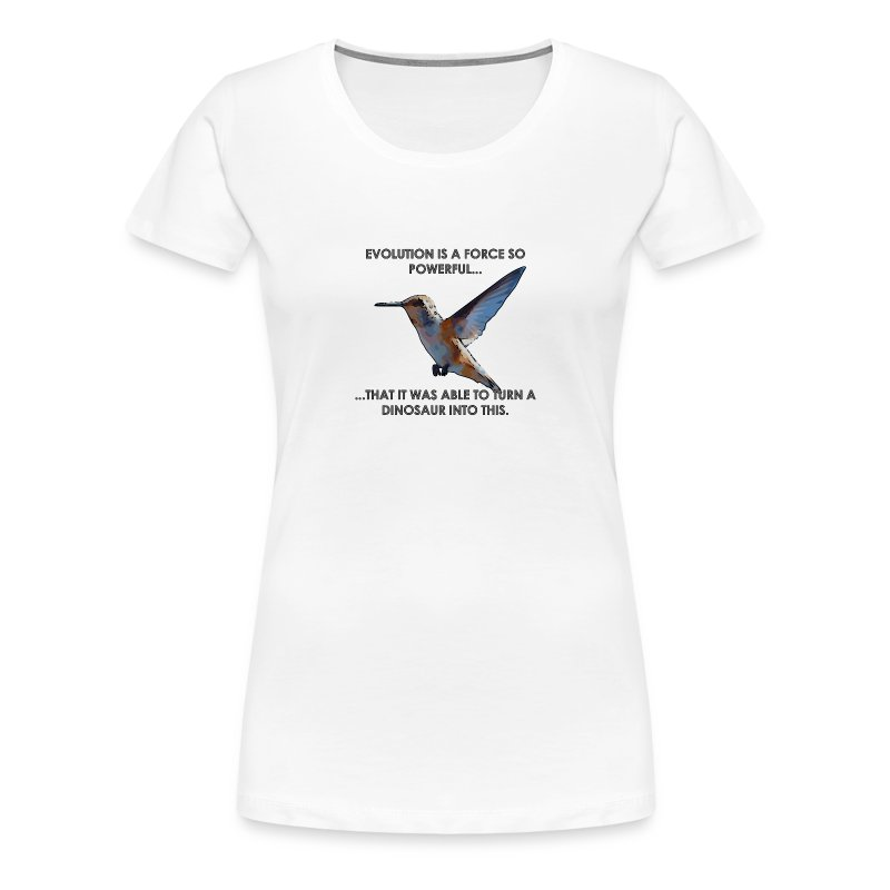 A powerful force - Women's Premium T-Shirt