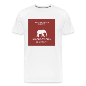 An ordovician elephant - Men's Premium T-Shirt