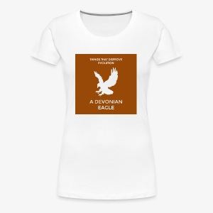A devonian eagle - Women's Premium T-Shirt