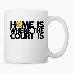 Home is where the court is Bottles & Mugs