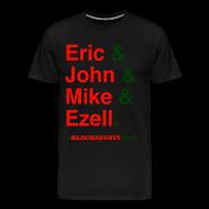 T-Shirts ~ Men's Premium T-Shirt ~ Black August 2014