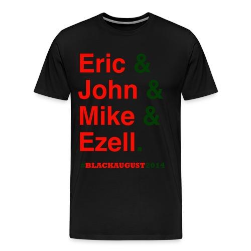Black August 2014 - Men's Premium T-Shirt