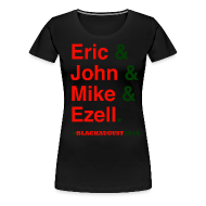 T-Shirts ~ Women's Premium T-Shirt ~ Black August 2014 for Women