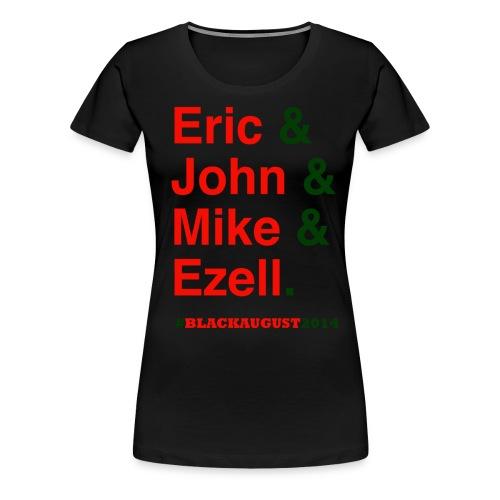 Black August 2014 for Women - Women's Premium T-Shirt