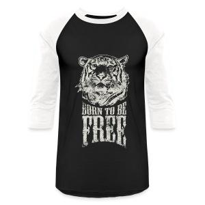 Born To Be Free Baseball Jersey - Baseball T-Shirt