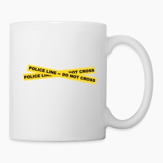 Police Line - Do Not Cross Bottles & Mugs