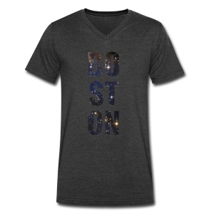 Boston Full of Stars - Men's V-Neck T-Shirt by Canvas