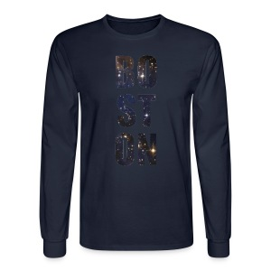 Boston Full of Stars - Men's Long Sleeve T-Shirt
