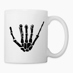 Hang Loose Skeleton Hand Bottles & Mugs
