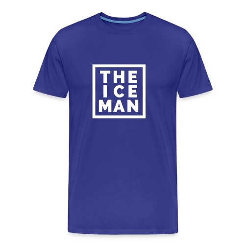The Ice Man - Royal Blue Tee - Men's Premium T-Shirt
