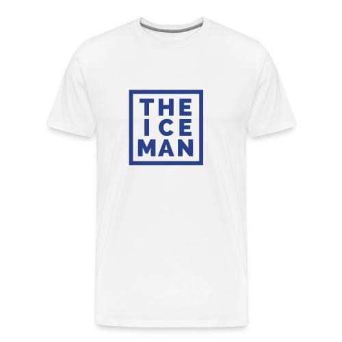 The Ice Man - White Tee - Men's Premium T-Shirt