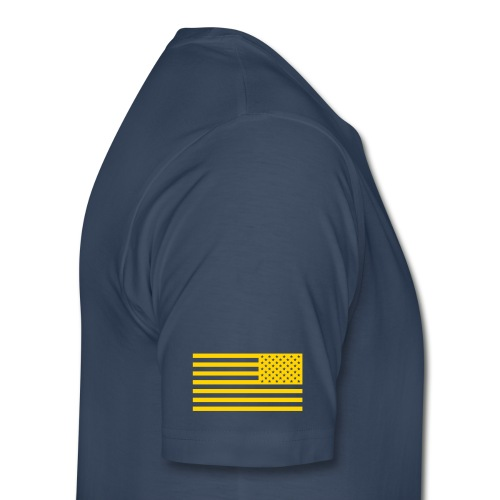 SSI Tshirt Navy w/ Gold Lettering - Men's Premium T-Shirt