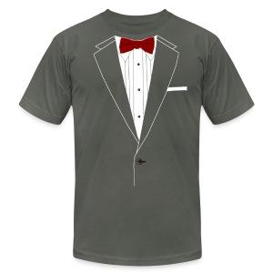 Mens Suit T-shirt - Men's Fine Jersey T-Shirt