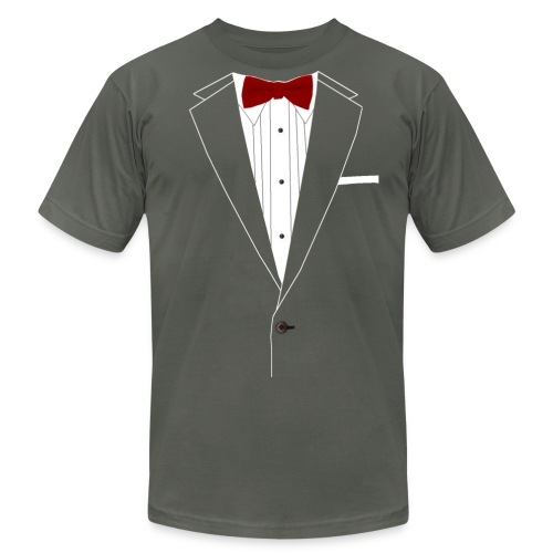Mens Suit T-shirt - Men's  Jersey T-Shirt