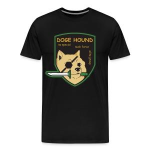 Doge Hound Men's Shirt - Men's Premium T-Shirt