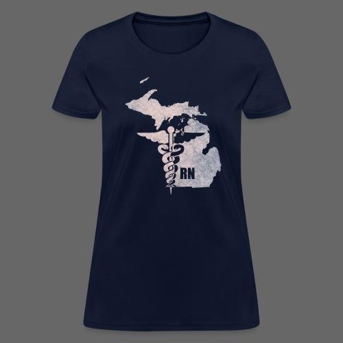 Michigan RN  - Women's T-Shirt